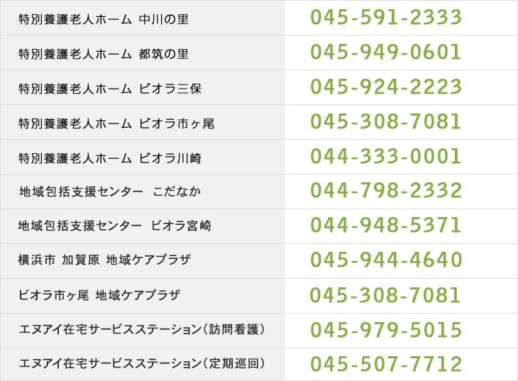 資料請求 神奈川県横浜市 川崎市の特別養護老人ホームは中川徳生会